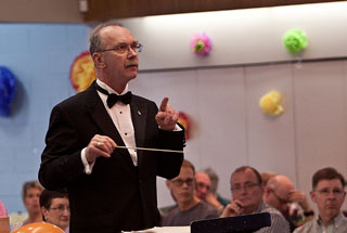 Conductor Michael Dominy