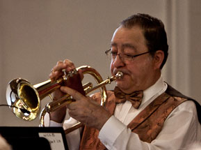 Ralph Gonyea on flugelhorn